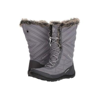 コロンビア Columbia レディース ブーツ シューズ・靴 Minx Mid III Ti Grey Steel/Grey