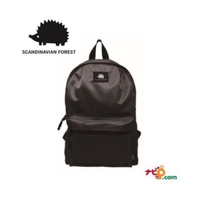スカンジナビアンフォレスト SCANDINAVIAN FOREST 10ポケット プリント デイパック バッグ ブラック 235-KESF047-BK ハリネズミ ボディバッグ