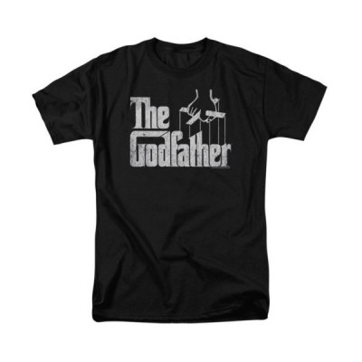 Tシャツ ゴッドファーザー The Godfather Movie Logo Licensed Adult T Shirt