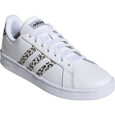 アディダス レディース スニーカー シューズ Grand Court Sneaker FTWR White/FTWR White/Core Black