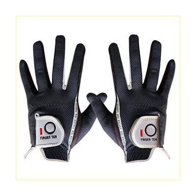 Golf Gloves Men Rain Grip Soft Value Pair Both Left Right Hand Lh Rh, Weathersof Durable Comfort Mens Glove Size Small Medium ML Large XL (D