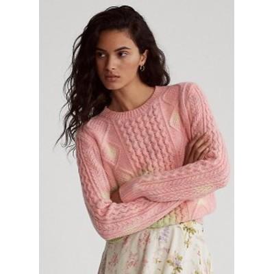 ラルフローレン レディース セーター Polo Ralph Lauren Tie-Dye Cable-Knit Sweater ニット Tie Dye