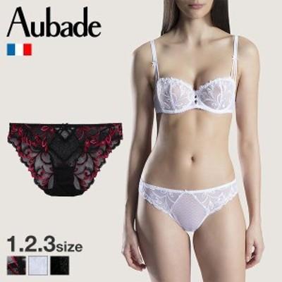 【メール便(4)】【送料無料】 (オーバドゥ)Aubade Au Bal de Flore イタリアン スタンダード ショーツ 単品