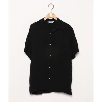 シャツ ブラウス 【Hawaiian】半袖シャツ