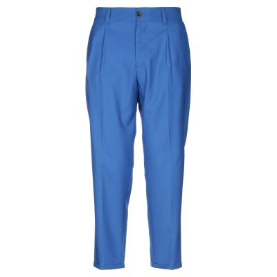 PT Torino パンツ ブライトブルー 31 バージンウール 100% パンツ