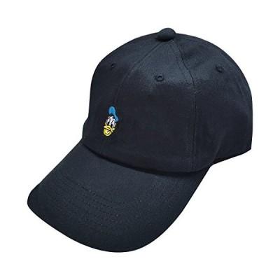 ディズニー 刺繍CAP ドナルドダック ブラック AWDS4416