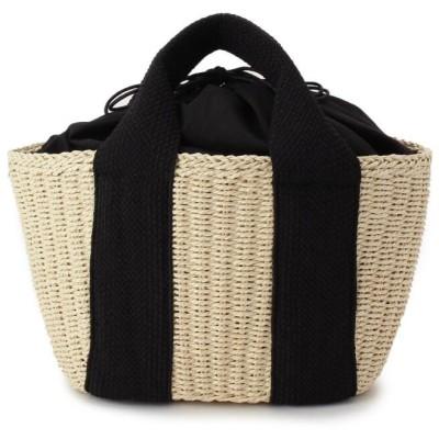 OZOC(オゾック) 巾着ペーパーミニトートバッグ