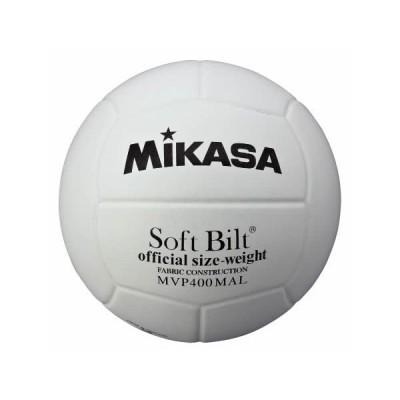 ミカサ バレーボール 練習球4号 白 MVP400-MALP