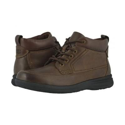 Nunn Bush ナンブッシュ メンズ 男性用 シューズ 靴 ブーツ レースアップ Cam Moc Toe Boot - Brown CH