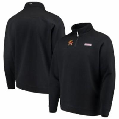 Vineyard Vines ヴィニヤード ヴァインズ スポーツ用品  Vineyard Vines Maryland Terrapins Black Shep Shirt Quarter-Zip Jacket