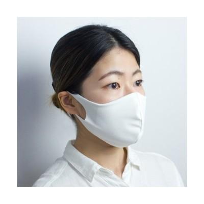 布マスク【日本製】 UVカット 紫外線対策 洗える 立体 日焼け防止 レオタード生地 ホワイト ブラック 白 黒 ピンク ブルー ネイビー グレー