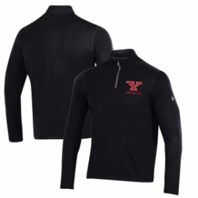 Under Armour アンダー アーマー スポーツ用品  Under Armour Youngstown State Penguins Black Threadborne Quarter-Zip Jacket