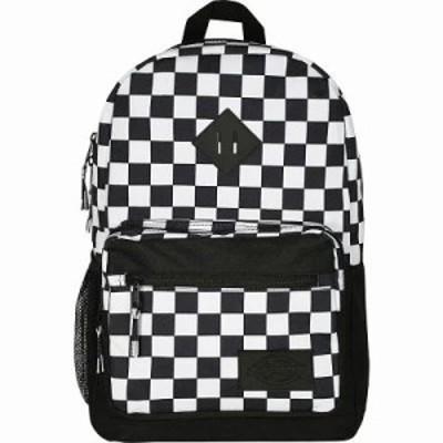 ディッキーズ バックパック・リュック Study Hall Backpack Black/White Checkerboard