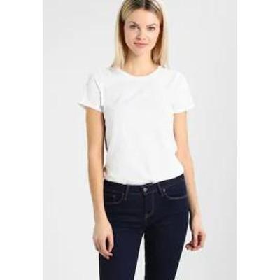 GAP レディーストップス GAP VINT CREW - Basic T-shirt - optic white opt