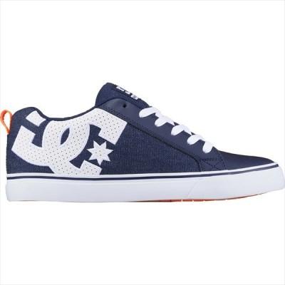 [DC Shoes]ディーシー メンズシューズ COURT VULC TX SE (DM204031)(4DW) ダークデニム/ホワイト[取寄商品]