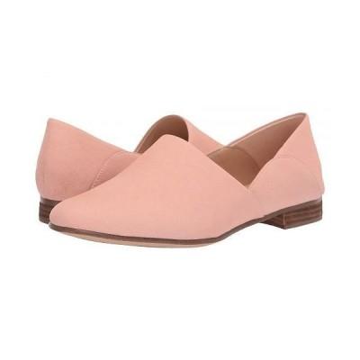 Clarks クラークス レディース 女性用 シューズ 靴 ローファー ボートシューズ Pure Tone - Light Pink Leather