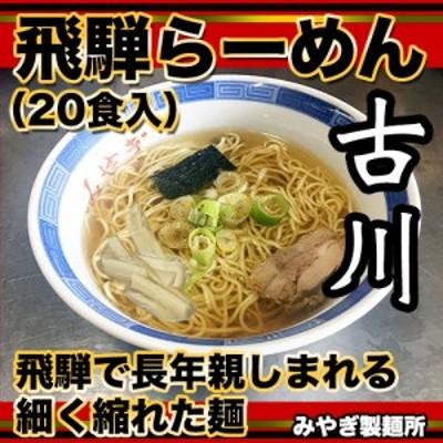 生中華麺 飛騨古川ラーメン 10袋20食セット 生ラーメン 醤油らーめん 拉麺[B0261]