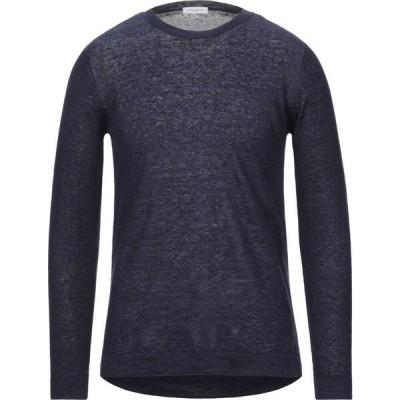 パオロ ペコラ PAOLO PECORA メンズ ニット・セーター トップス sweater Dark blue