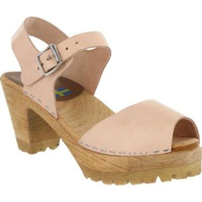 ミア Mia レディース サンダル・ミュール アンクルストラップ シューズ・靴 Greta Ankle Strap Sandal Natural Leather