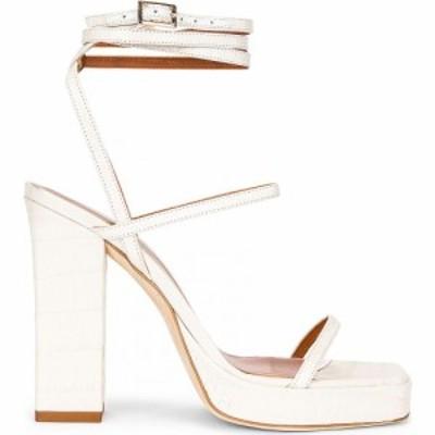 パリ テキサス Paris Texas レディース サンダル・ミュール シューズ・靴 Bianca Platform Sandal Bone