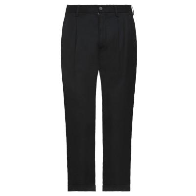 EN AVANCE パンツ ブラック 48 ポリエステル 65% / レーヨン 32% / ポリウレタン 3% パンツ