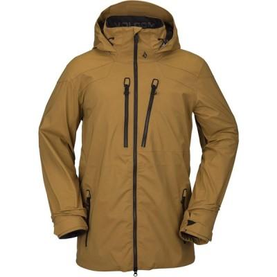 ボルコム Volcom メンズ ジャケット アウター Guch Stretch GORE-TEX Jacket Burnt Khaki