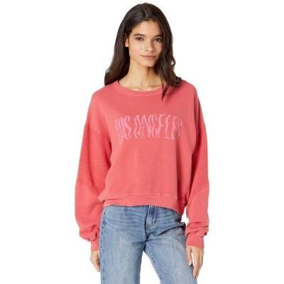 カレント エリオット レディース パーカー・スウェット アウター The Pieced Sweatshirt