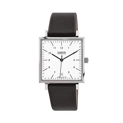 Dugena Premium Men's Quartz Watch Dessau Carree 7000142 with Leather Strap 並行輸入品