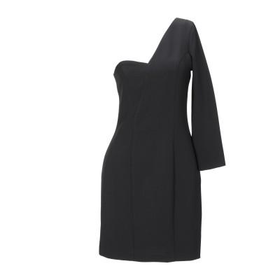カオス KAOS ミニワンピース&ドレス ブラック 42 ポリエステル 91% / ポリウレタン 9% ミニワンピース&ドレス