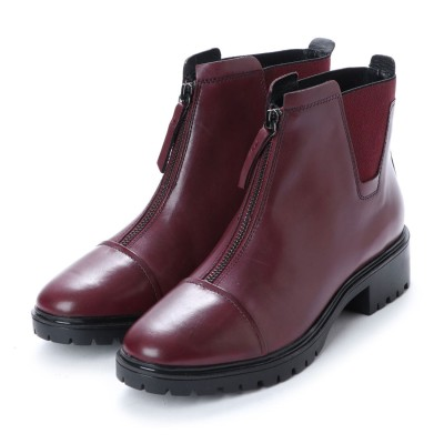 ジェオックス GEOX ANKLE BOOTS (BORDEAUX)