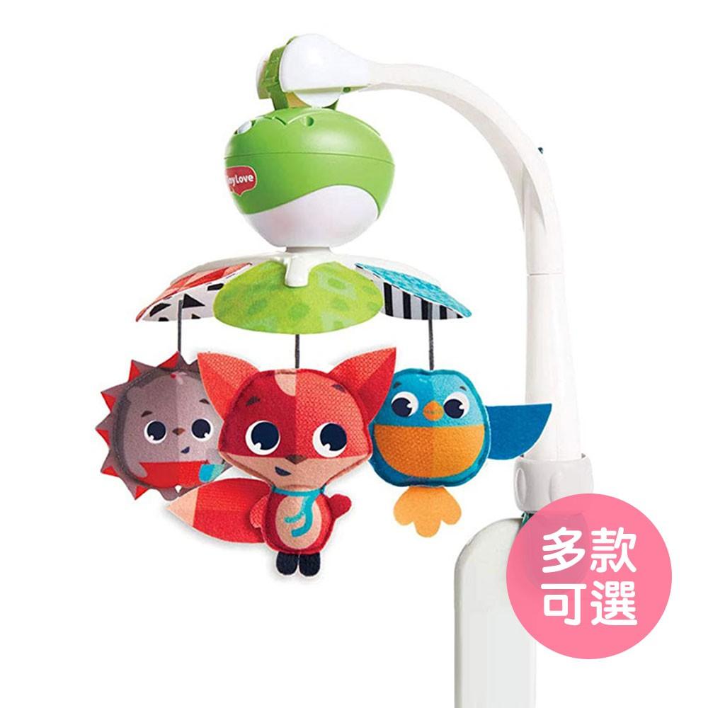 【美國Tiny Love】嬰幼兒五感玩具-三合一旋轉音樂鈴 音樂搖鈴 床邊音樂鈴 床鈴(LAVIDA官方直營)