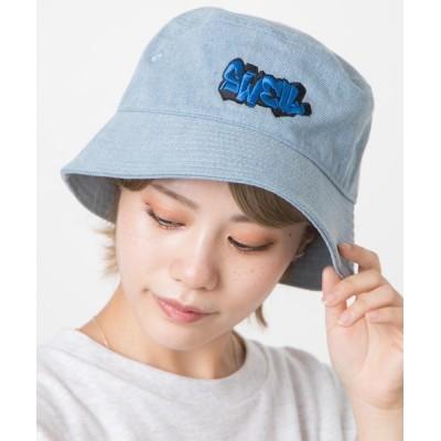 WEGO / WEGO/ツイルロゴバケットハット MEN 帽子 > ハット