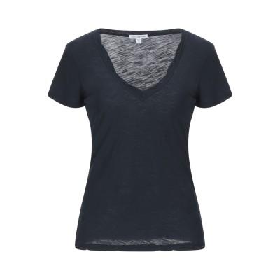 ジェームス・パース JAMES PERSE T シャツ ダークブルー 0 スーピマ® 100% T シャツ