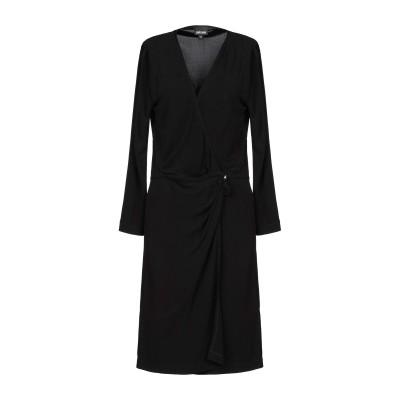 ジャストカヴァリ JUST CAVALLI ミニワンピース&ドレス ブラック 44 レーヨン 100% ミニワンピース&ドレス