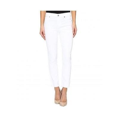 7 For All Mankind セブンフォーオールマンカインド レディース 女性用 ファッション ジーンズ デニム Roxanne Ankle w/ Raw Hem in White Fashion - White F..
