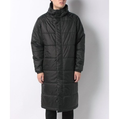 ATHFORM(アスフォーム) サーモライト中綿ロングコート AF-F20-010-059 メンズスポーツウェア 中綿ジャケット メンズ ブラック セール