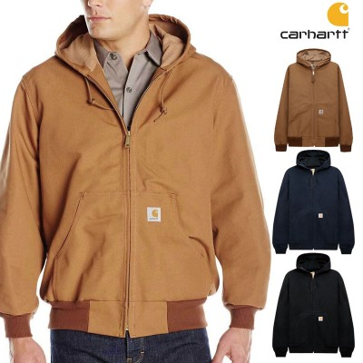 [CARHARTT] J131 THERMAL-LINED DUCK ACTIVE JACKET カーハート フード付きコート レディース メンズ