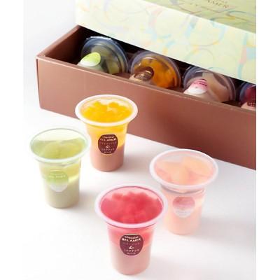<BEL AMER/ベルアメール> フルーツゼリー&ショコラムース8個(洋菓子)【三越伊勢丹/公式】