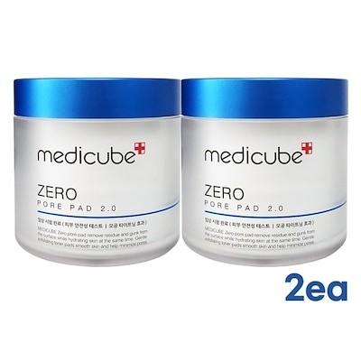 [1+1] メディキューブ(Medicube)ゼロ毛穴パッド 2.0 155g 70枚 / Medicube Zero Pore Pad 2.0 70sheets