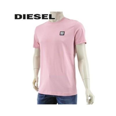 ディーゼル/DIESEL メンズ Tシャツ T DIEGOS K30 A00356 0AAXJ/ピンク/39Q/21ss