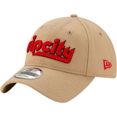 ニューエラ New Era メンズ キャップ 帽子 Portland Trail Blazers 9Twenty City Edition Adjustable Hat