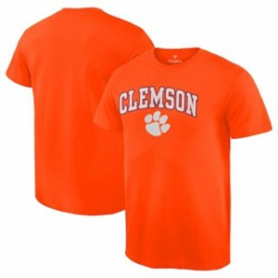 Fanatics Branded ファナティクス ブランド スポーツ用品  Fanatics Branded Clemson Tigers Orange Campus T-Shirt