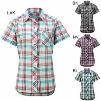 マーモット レディースファッション カジュアルシャツ 半袖 ウィメンズ QD Check H/S Shirt  Marmot TOWNJA76