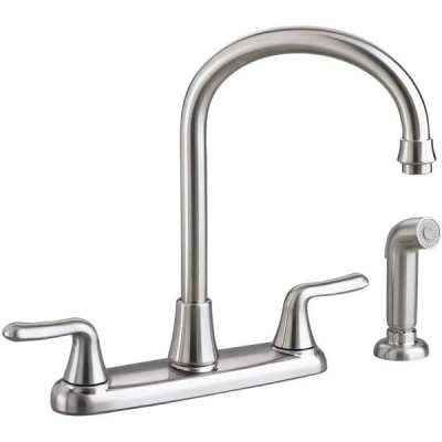 American Standard 4275551.075 Colony Soft Kitchen HIGH-ARC W/Spray, 19
