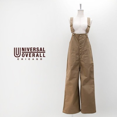 UNIVERSAL OVERALL ユニバーサルオーバーオール レディース TCベーシックオーバーオール(U812877)(2020FW)