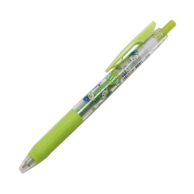 カラーボールペン ライトグリーン ディズニー SARASA CLIP トイストーリー エイリアン キャラクター グッズ カミオジャパン