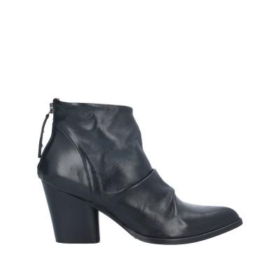 MNG ショートブーツ ブラック 36 牛革(カーフ) ショートブーツ