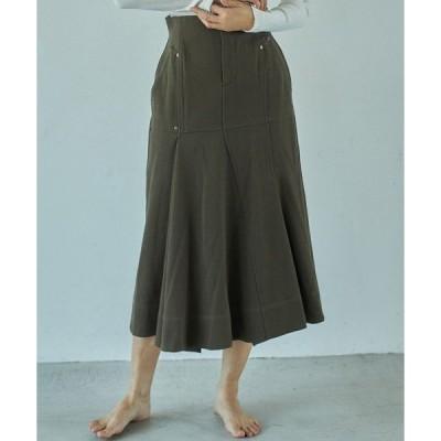 スカート ウールマーメイドスカート