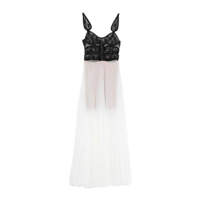 クリストファー・ケイン CHRISTOPHER KANE ロングワンピース&ドレス ホワイト 44 レーヨン 100% / ナイロン / アセテート