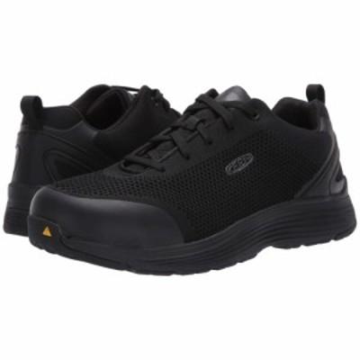 キーン Keen Utility メンズ シューズ・靴 sparta aluminum toe Black/Black